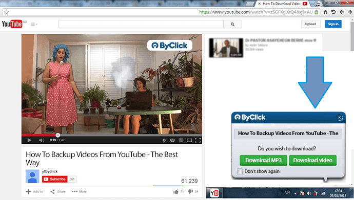 Downloader Firefox YouTube